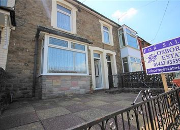 Thumbnail 3 bed terraced house for sale in Aubrey Road, Glynfach, Porth