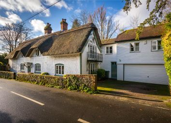 Thumbnail 4 bed detached house for sale in Park Lane, Abbots Worthy, Winchester, Hampshire