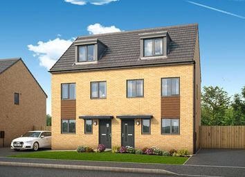 "Thumbnail 3 bed property for sale in ""The Bamburgh At Yew Gardens, Doncaster"" at Broomhouse Lane, Edlington, Doncaster"