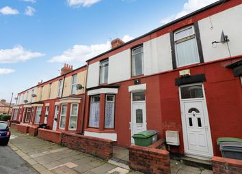 Thumbnail 3 bedroom terraced house for sale in Cromer Drive, Wallasey