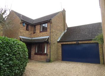 Thumbnail 4 bed detached house for sale in Ryefields, Spratton, Northampton