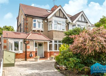Thumbnail 4 bed semi-detached house for sale in Claremont Park, Finchley, London