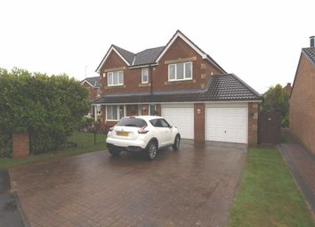 Thumbnail 4 bed detached house for sale in Eton Close, Cramlington