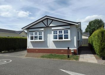 Thumbnail 2 bed mobile/park home for sale in Eye Road, Eye, Suffolk