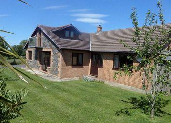 Thumbnail 5 bed bungalow for sale in Cefnllwyd, Aberystwyth, Ceredigion