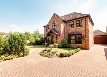 Thumbnail 4 bed detached house for sale in Burrells Close, Haxey, Doncaster