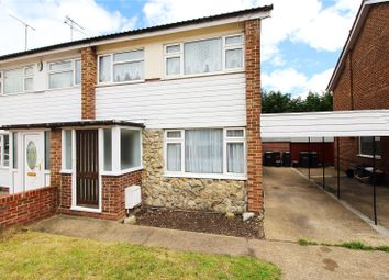 Thumbnail 3 bed semi-detached house for sale in Artemis Close, Gravesend, Kent