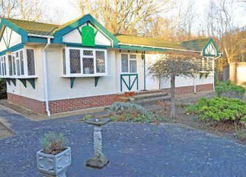 Thumbnail 2 bed mobile/park home for sale in Badgers Walk, Deanland Wood Park, Golden Cross, Hailsham