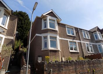Thumbnail 3 bed semi-detached house for sale in Gwar Y Caeau, Penycae, Port Talbot, Neath Port Talbot.