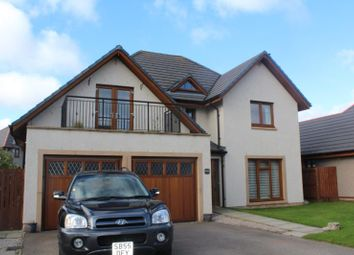 Thumbnail 5 bed detached house to rent in Stuart Crescent, Kemnay