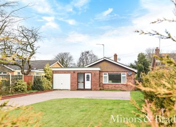 Thumbnail 2 bed detached bungalow for sale in Main Road, Rollesby, Great Yarmouth
