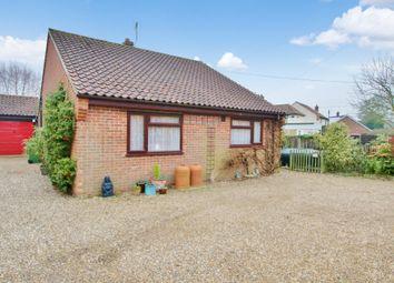 Thumbnail 3 bedroom detached bungalow for sale in Well Green, Frettenham, Norwich