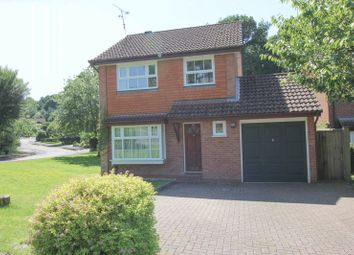 Thumbnail 3 bed detached house to rent in Bloomsbury Way, Blackwater, Camberley