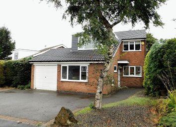Thumbnail 4 bed detached house for sale in Romans Crescent, Coalville