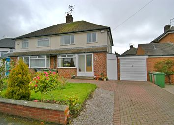 Thumbnail 3 bed semi-detached house for sale in Howell Drive, Greasby, Wirral