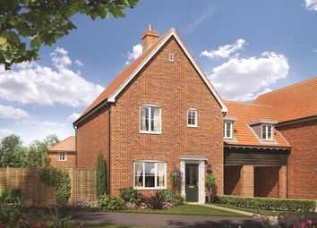 Thumbnail 3 bed link-detached house for sale in Talbot, Station Road, Campsea Ashe, Woodbridge