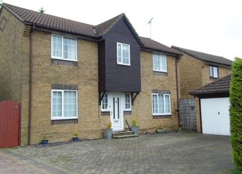 Thumbnail 5 bed detached house to rent in Boundary Close, Swindon, Wiltshire