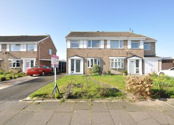 Thumbnail 3 bed semi-detached house for sale in Ribchester Avenue, Blackpool, Lancashire