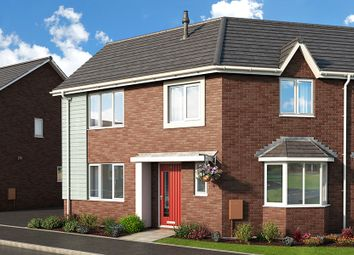 "Thumbnail 3 bedroom property for sale in ""The Lily At Meadow View, Shirebrook"" at Brook Park East Road, Shirebrook, Mansfield"