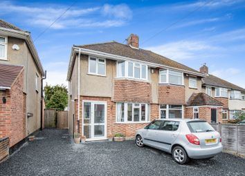 Thumbnail 4 bed semi-detached house for sale in Herschel Crescent, Littlemore, Oxford