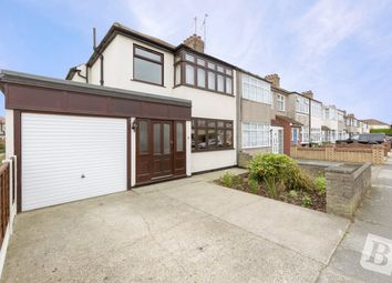 Thumbnail 3 bed end terrace house for sale in Percy Road, Romford, Essex