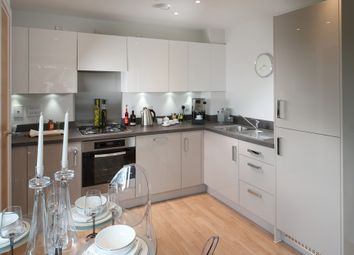 Thumbnail 2 bedroom flat for sale in Plots 13 & 14, Meridian Waterside, Southampton