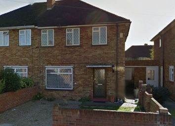 Thumbnail 3 bed semi-detached house to rent in Evelyns Close, Uxbridge