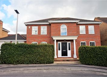 Thumbnail 4 bed detached house for sale in Cowslip Crescent, Thatcham