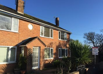 Thumbnail 2 bed flat to rent in Exeter Road, Newton Poppleford