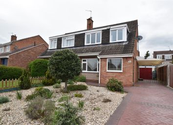 Thumbnail 3 bed semi-detached house for sale in Russett Close, Worcester