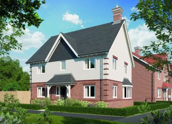 Thumbnail 4 bed detached house for sale in William Morris Way, Tadpole Garden Village, Swindon