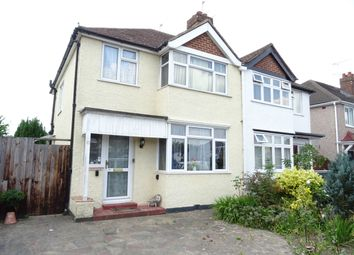 Thumbnail 3 bed semi-detached house for sale in Linden Close, New Haw