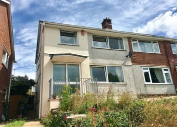 Thumbnail 3 bed property to rent in Highclere Gardens, Plymouth