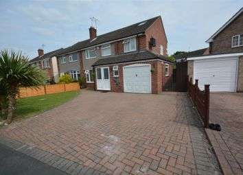 Thumbnail 4 bed semi-detached house for sale in Churchill Drive, Ruddington, Nottingham