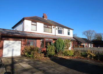 Thumbnail 3 bed semi-detached house for sale in The Avenue, Churchtown, Preston, Lancashire