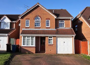 Thumbnail 4 bed detached house for sale in Gillingham Crescent, Stafford