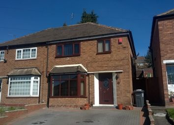 Thumbnail 3 bed semi-detached house to rent in Craythorne Avenue, Birmingham