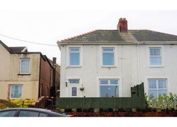 Thumbnail 3 bed semi-detached house for sale in Main Road, Dyffryn Cellwen Seven Sisters