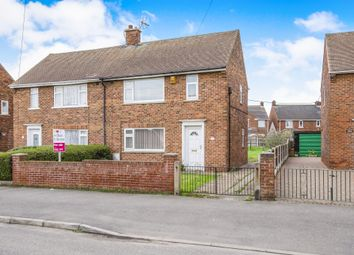 Thumbnail 2 bed semi-detached house for sale in Cambridge Road, Harworth, Doncaster