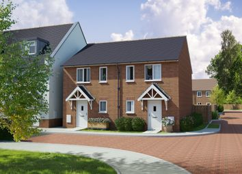 Thumbnail 2 bed semi-detached house for sale in Campion Place, Newton Abbot