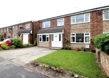 Thumbnail 4 bed semi-detached house for sale in Coppergate Close, Nafferton, Driffield