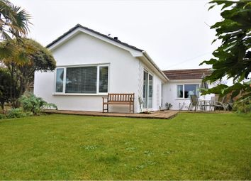 Thumbnail 3 bed detached bungalow for sale in Chiverton Way, Penzance