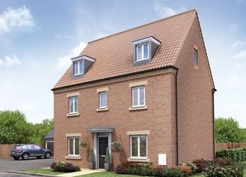 "Thumbnail 5 bed detached house for sale in ""The Knebworth"" at Barleythorpe Road, Oakham"