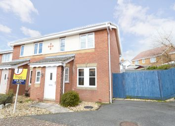 Thumbnail 3 bed semi-detached house for sale in Rosetta Drive, East Cowes