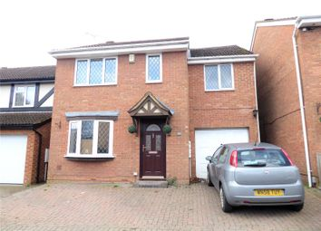 Thumbnail 4 bed detached house for sale in Gifford Road, Stratone Village, Swindon