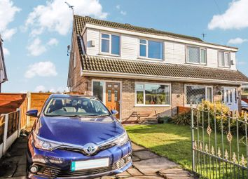 Thumbnail 3 bed semi-detached house for sale in Marston Close, Whitefield, Manchester