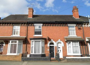 Thumbnail 3 bed terraced house to rent in Queen Street, Crewe, Cheshire