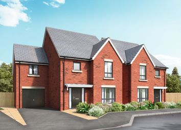 Thumbnail 4 bed detached house for sale in Off Great North Road, Morpeth, Northumberland