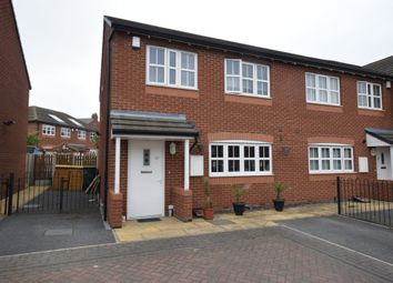 Thumbnail 3 bed end terrace house for sale in Rosa Court, Pontefract