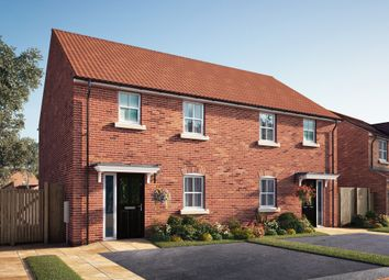 "Thumbnail 3 bed semi-detached house for sale in ""The Sandgate"" at Southfield Lane, Tockwith, York"